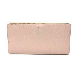 Kate Spade Grand Street Stacy Warm Vellum Wallet